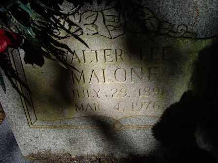 MALONE, WALTER LEE - Lawrence County, Arkansas   WALTER LEE MALONE - Arkansas Gravestone Photos