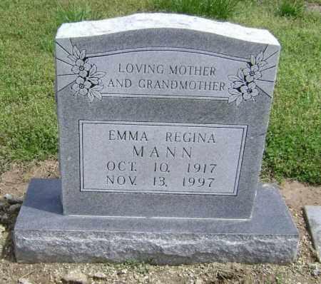 MANN, EMMA REGINA - Lawrence County, Arkansas | EMMA REGINA MANN - Arkansas Gravestone Photos