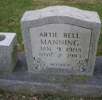 MANNING, ARTIE BELL - Lawrence County, Arkansas   ARTIE BELL MANNING - Arkansas Gravestone Photos