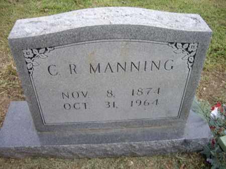 MANNING, C. R. - Lawrence County, Arkansas | C. R. MANNING - Arkansas Gravestone Photos