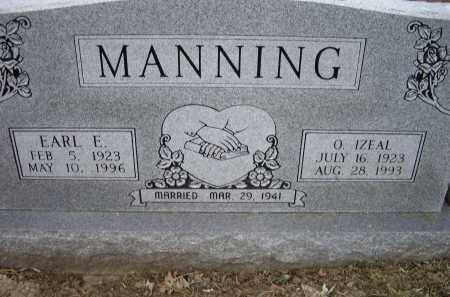 MANNING, EARL E. - Lawrence County, Arkansas | EARL E. MANNING - Arkansas Gravestone Photos