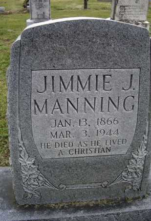 """MANNING, JAMES JOHN """"JIMMIE"""" - Lawrence County, Arkansas 