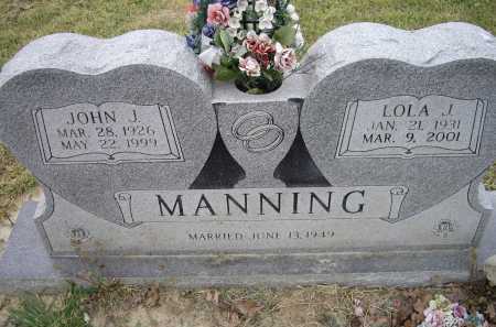 HUTTON MANNING, LOLA JEAN - Lawrence County, Arkansas | LOLA JEAN HUTTON MANNING - Arkansas Gravestone Photos