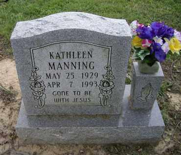MANNING, KATHLEEN - Lawrence County, Arkansas | KATHLEEN MANNING - Arkansas Gravestone Photos