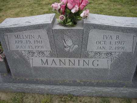 MANNING, IVA BELLE - Lawrence County, Arkansas | IVA BELLE MANNING - Arkansas Gravestone Photos