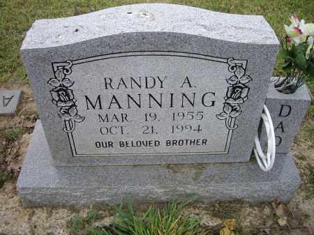 MANNING, RANDY A. - Lawrence County, Arkansas   RANDY A. MANNING - Arkansas Gravestone Photos