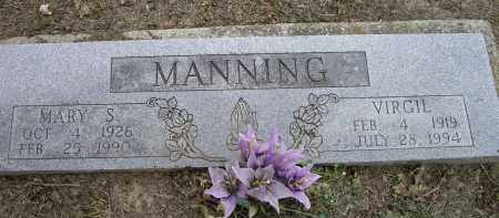 MANNING, VIRGIL - Lawrence County, Arkansas | VIRGIL MANNING - Arkansas Gravestone Photos