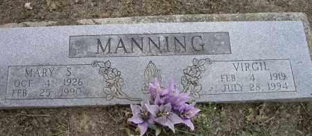 MANNING, MARY S. - Lawrence County, Arkansas   MARY S. MANNING - Arkansas Gravestone Photos