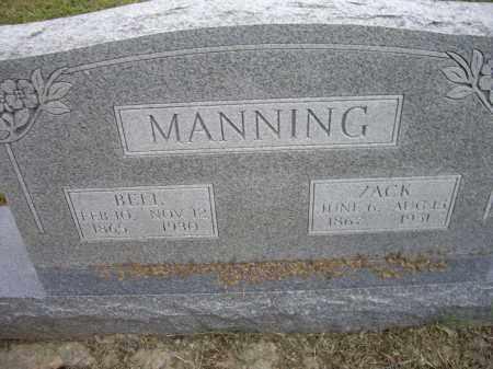 MANNING, BELL - Lawrence County, Arkansas | BELL MANNING - Arkansas Gravestone Photos