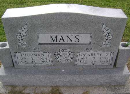 MANS, THURMAN - Lawrence County, Arkansas | THURMAN MANS - Arkansas Gravestone Photos