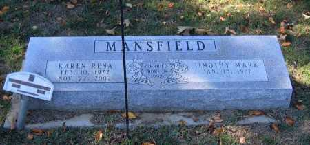 MCCOLLUM MANSFIELD, KAREN RENA - Lawrence County, Arkansas   KAREN RENA MCCOLLUM MANSFIELD - Arkansas Gravestone Photos