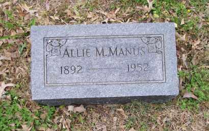MANUS, ALLIE MEDA - Lawrence County, Arkansas | ALLIE MEDA MANUS - Arkansas Gravestone Photos