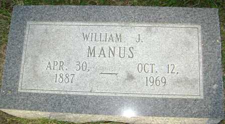 MANUS, WILLIAM JACKSON - Lawrence County, Arkansas | WILLIAM JACKSON MANUS - Arkansas Gravestone Photos