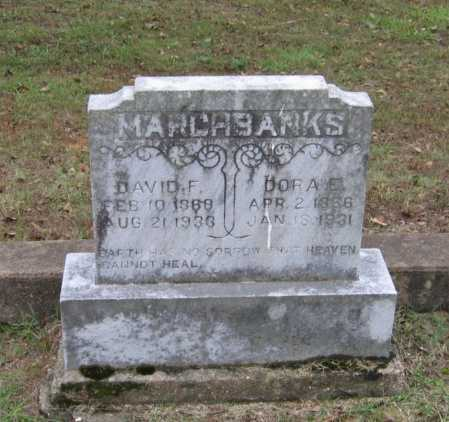 MARCHBANKS, DAVID FRANK - Lawrence County, Arkansas | DAVID FRANK MARCHBANKS - Arkansas Gravestone Photos