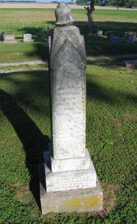 MARKHAM, WILLIAM E. - Lawrence County, Arkansas | WILLIAM E. MARKHAM - Arkansas Gravestone Photos
