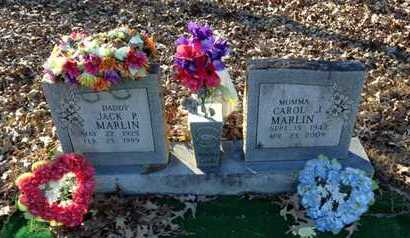 MARLIN, JACK P. - Lawrence County, Arkansas | JACK P. MARLIN - Arkansas Gravestone Photos