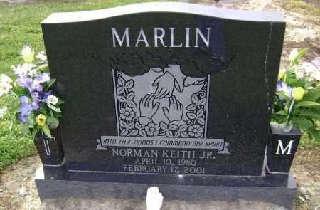 MARLIN, JR., NORMAN KEITH - Lawrence County, Arkansas   NORMAN KEITH MARLIN, JR. - Arkansas Gravestone Photos