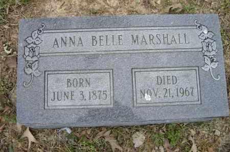 MARSHALL, ANNA BELLE - Lawrence County, Arkansas | ANNA BELLE MARSHALL - Arkansas Gravestone Photos
