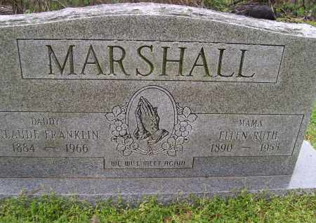 MARSHALL, CLAUDE FRANKLIN - Lawrence County, Arkansas | CLAUDE FRANKLIN MARSHALL - Arkansas Gravestone Photos