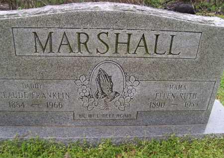 MARSHALL, ELLEN RUTH - Lawrence County, Arkansas | ELLEN RUTH MARSHALL - Arkansas Gravestone Photos