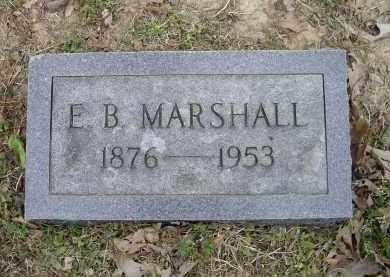 MARSHALL, E. B. - Lawrence County, Arkansas   E. B. MARSHALL - Arkansas Gravestone Photos