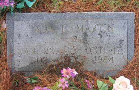 MARTIN, ADA L. - Lawrence County, Arkansas | ADA L. MARTIN - Arkansas Gravestone Photos