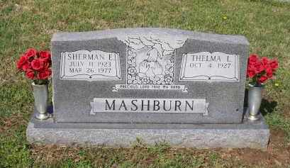"MASHBURN, SHERMAN ELI ""SHORTY"" - Lawrence County, Arkansas 