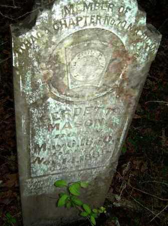 MASON, BERDETT - Lawrence County, Arkansas | BERDETT MASON - Arkansas Gravestone Photos