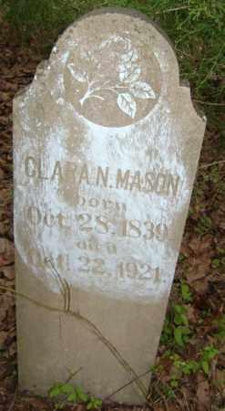 MASON, CLARA N. - Lawrence County, Arkansas | CLARA N. MASON - Arkansas Gravestone Photos