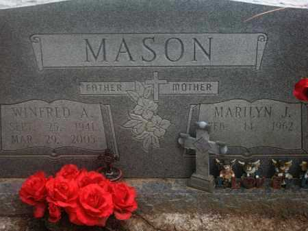 MASON, WINFRED ADELL - Lawrence County, Arkansas | WINFRED ADELL MASON - Arkansas Gravestone Photos