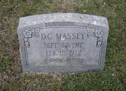 "MASSEY, DEWAN C.  ""D.C."" - Lawrence County, Arkansas | DEWAN C.  ""D.C."" MASSEY - Arkansas Gravestone Photos"