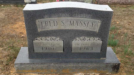 MASSEY, FRED SOLON - Lawrence County, Arkansas | FRED SOLON MASSEY - Arkansas Gravestone Photos