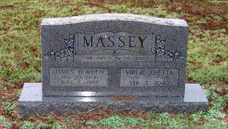 WAGNER MASSEY, VIRGIE LUETTA - Lawrence County, Arkansas | VIRGIE LUETTA WAGNER MASSEY - Arkansas Gravestone Photos