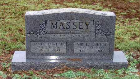 MASSEY, JAMES BORDEN - Lawrence County, Arkansas | JAMES BORDEN MASSEY - Arkansas Gravestone Photos