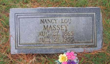 JUSTUS MASSEY, NANCY LOU - Lawrence County, Arkansas   NANCY LOU JUSTUS MASSEY - Arkansas Gravestone Photos