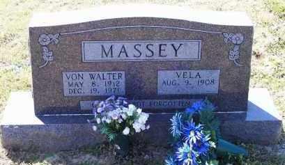 MASSEY, VON WALTER - Lawrence County, Arkansas | VON WALTER MASSEY - Arkansas Gravestone Photos