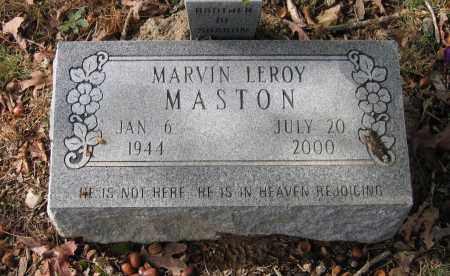 MASTON, MARVIN LEROY - Lawrence County, Arkansas | MARVIN LEROY MASTON - Arkansas Gravestone Photos
