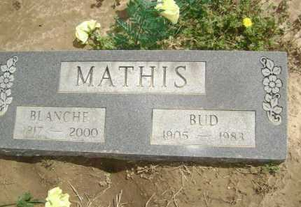 """MATHIS, LUDY MARION """"BUD"""" - Lawrence County, Arkansas 