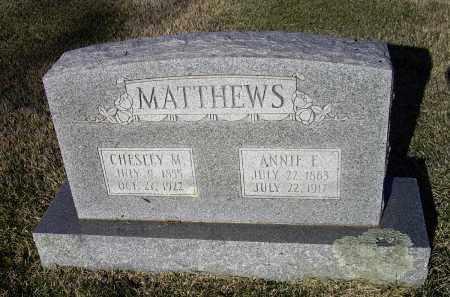 GUTHRIE MATTHEWS, ANNE ELIZABETH - Lawrence County, Arkansas | ANNE ELIZABETH GUTHRIE MATTHEWS - Arkansas Gravestone Photos