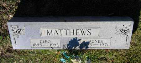 RAINWATER MATTHEWS, JOHNNIE AGNES - Lawrence County, Arkansas | JOHNNIE AGNES RAINWATER MATTHEWS - Arkansas Gravestone Photos