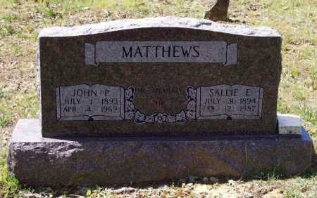 MATTHEWS, SALLIE ELIZABETH - Lawrence County, Arkansas | SALLIE ELIZABETH MATTHEWS - Arkansas Gravestone Photos