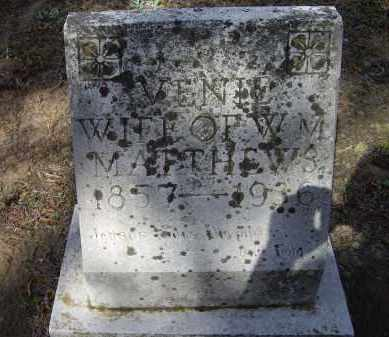 "MARTIN MATTHEWS, MARY LAVENIA ""VENIE"" - Lawrence County, Arkansas 