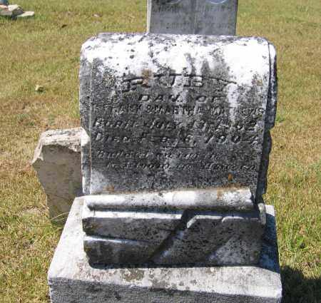 MATTHEWS, RUBY - Lawrence County, Arkansas | RUBY MATTHEWS - Arkansas Gravestone Photos