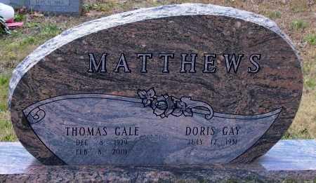 MATTHEWS, THOMAS GALE - Lawrence County, Arkansas | THOMAS GALE MATTHEWS - Arkansas Gravestone Photos