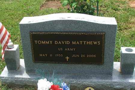 MATTHEWS (VETERAN), TOMMY DAVID - Lawrence County, Arkansas | TOMMY DAVID MATTHEWS (VETERAN) - Arkansas Gravestone Photos