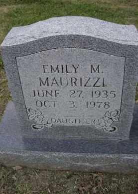 MAURIZZI, EMILY M. - Lawrence County, Arkansas | EMILY M. MAURIZZI - Arkansas Gravestone Photos