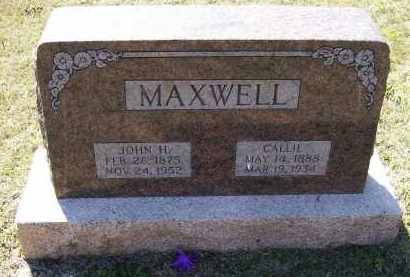 MOORE MAXWELL, CALLIE - Lawrence County, Arkansas | CALLIE MOORE MAXWELL - Arkansas Gravestone Photos