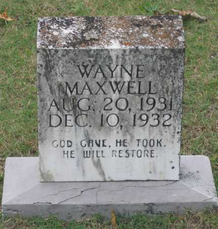 MAXWELL, WAYNE - Lawrence County, Arkansas | WAYNE MAXWELL - Arkansas Gravestone Photos