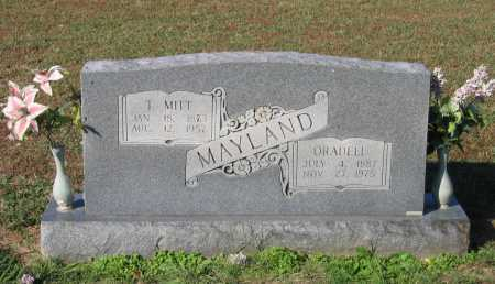 "MAYLAND, T. MIDDLETON ""MITT"" - Lawrence County, Arkansas 