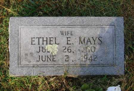 MAYS, ETHEL E. - Lawrence County, Arkansas   ETHEL E. MAYS - Arkansas Gravestone Photos